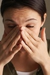 От аллергии сильно дерет горло
