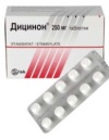 Дицинон – поможет при кровотечениях и повышенной кровоточивости