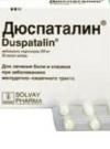 Дюспаталин – инструкция: в чем помощь организму