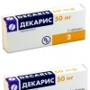 Декарис – препарат с противогельминтным и иммуностимулирующим действием