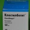 Клостилбегит: инструкция по применению лекарства от бесплодия